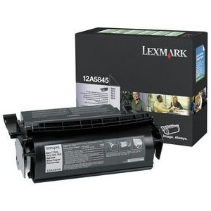 Premium Quality Black Toner Cartridge compatible with the Lexmark 12A5845 (25000 page yield)