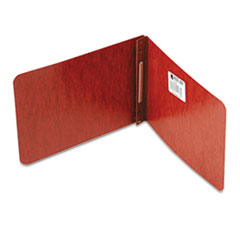 "Pressboard Report Cover, 2"" Cap, 5-1/2""x8-1/2"", Rust Red"