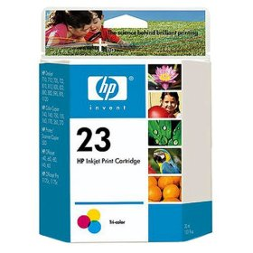 Genuine OEM HP C1823D (HP 23) Color Inkjet Cartridge (30 ml)