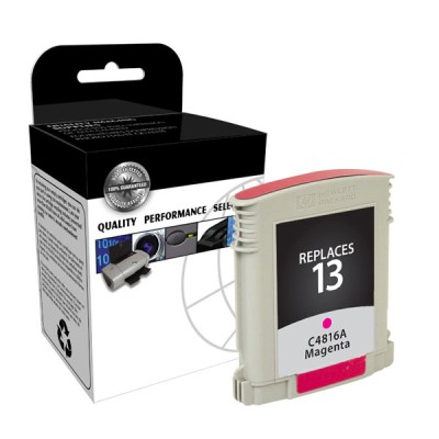 Premium Quality Magenta Print Cartridge compatible with the HP (HP 13) C4816A (1000 page yield)