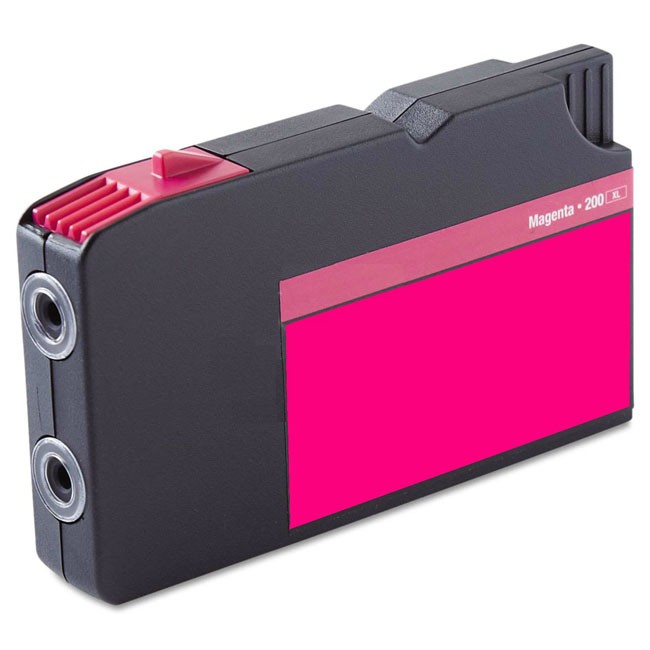 Premium Quality Magenta compatible with the Lexmark 14L0199