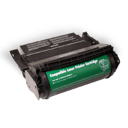 Premium Quality Black Laser/Fax Toner compatible with the Lexmark 12A0825 (23000 page yield)