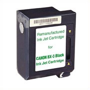 Premium Quality Black Inkjet Cartridge compatible with the Canon (BX-3) 0884A003 (550 page yield)