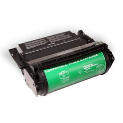 Premium Quality Black MICR Toner Cartridge compatible with the Lexmark 12A5745