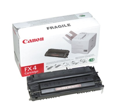 Genuine OEM Canon 1558A002AA (FX-4) Black Toner Printer Cartridge (4000 page yield)