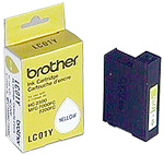 Genuine OEM Brother LC-01Y Yellow Inkjet Cartridge (300 page yield)