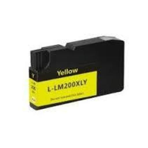Premium Quality Yellow compatible with the Lexmark 14L0200